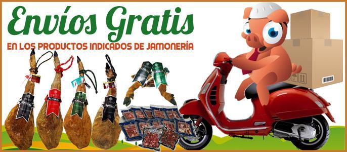 Envíos Gratis a los Productos Indicados en Jamonería