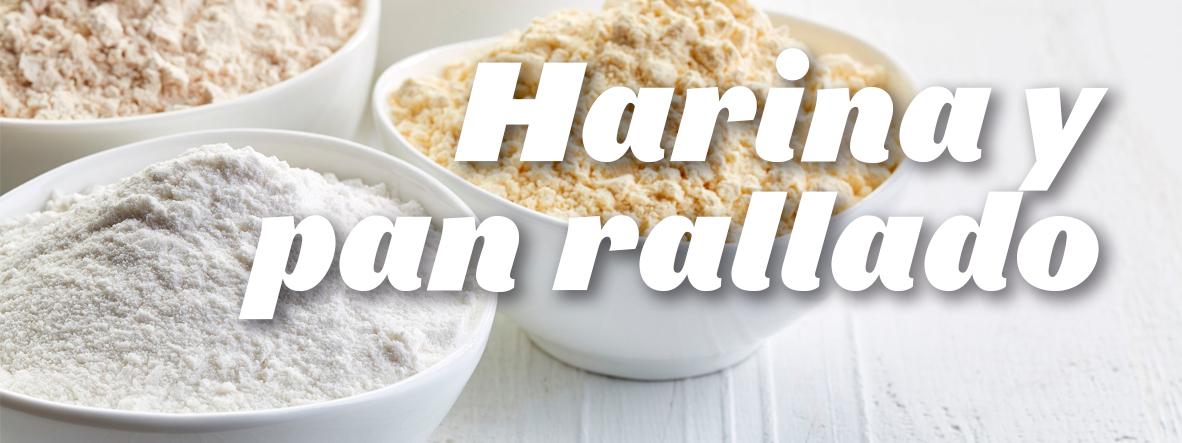 Harina y Pan rallado