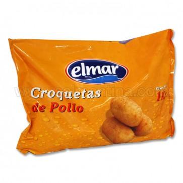CROQUETAS DE POLLO  EL MAR 1 KG.