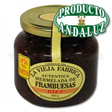 MERMELADA DE FRAMBUESA LA VIEJA FABRICA DIET 300 GR.