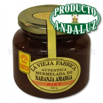 MERMELADA DE NARANJA AMARGA LA VIEJA FABRICA APTA PARA DIABÉTICOS 300 GR.
