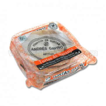 TORTAS DE ACEITE DE NARANJA ANDRÉS GAVIÑO