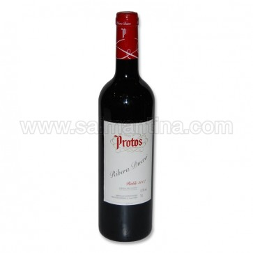 VINO TINTO ROBLE PROTOS 750 ML.