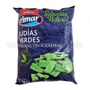 """JUDÍAS VERDES PLANAS TROCEADAS  """" EL MAR"""""""
