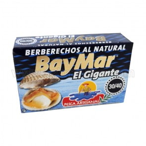 """BERBERECHOS AL NATURAL """" BAYMAR"""" 30/40"""