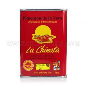 """PIMENTÓN DE LA VERA DULCE """"LA CHINATA"""" 160 gramos"""