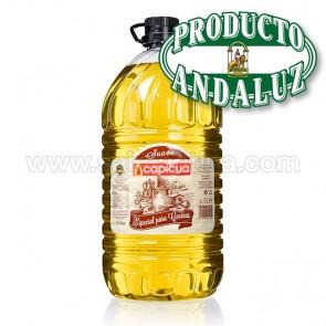ACEITE CAPICUA - PREPARADO ESPECIAL PARA COCINAR - 5 litros