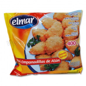 MINI EMPANADILLAS DE ATÚN EL MAR 400GR.
