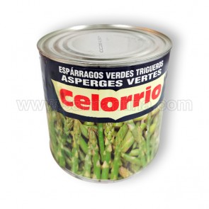 ESPARRAGOS VERDES TRIGUEROS CELORRIO. 3 KG