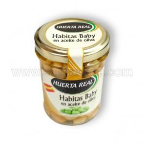 HABITAS BABY EN ACEITE DE OLIVA HUERTA REAL. 135 GR
