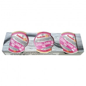 PACK DE 3 INDALITOS CREMA DE JAMON YORK