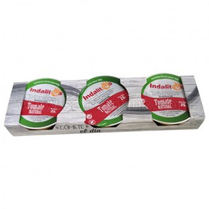 PACK DE 3 INDALITOS TOMATE NATURAL
