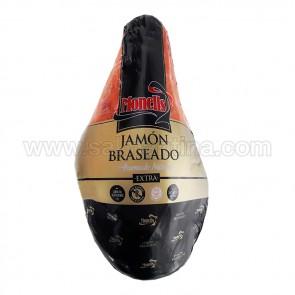 """JAMÓN COCIDO BRASEADO """"MONELLS"""" 100 gramos"""