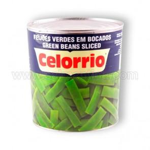JUDIAS VERDES PLANAS ANCHAS TROCEADAS CELORRIO. 2,5 KG