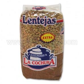 LENTEJAS LA COCHURA 500 KG.