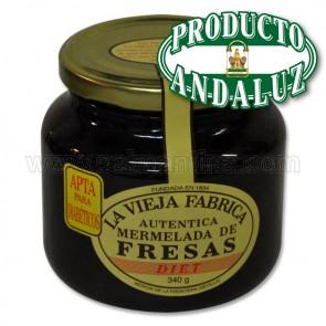 MERMELADA DE FRESA LA VIEJA FABRICA APTA PARA DIET 300 GR.