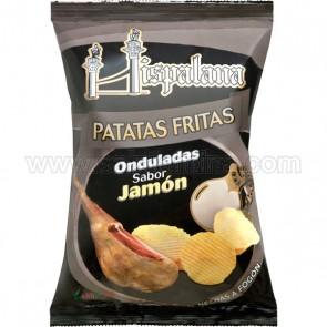 PATATAS HISPALANA SABOR DE JAMON 140 gramos