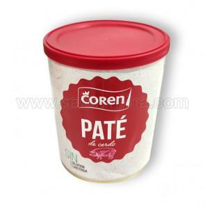 PATÉ DE CERDO COREN. 840 GR