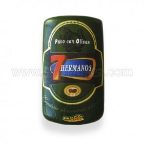 PAVO CON OLIVAS 7 HERMANOS