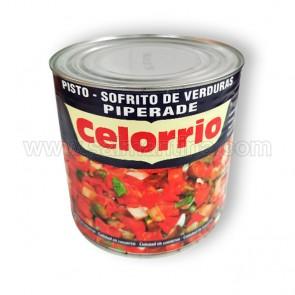PISTO SOFRITO DE VERDURAS CELORRIO. 2,5 KG