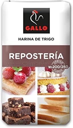 HARINA DE REPOSTERÍA GALLO 1 KILO