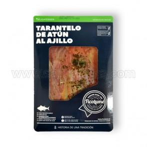 TARANTELO DE ATUN AL AJILLO FICOLUME. 110 GR