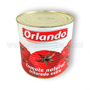 TOMATE NATURAL TRITURADO EXTRA ORLANDO. 2,5 KG