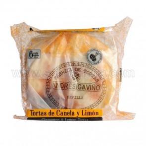 TORTAS DE ACEITE DE CANELA Y LIMÓN ANDRÉS GAVIÑO