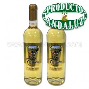 2 BOTELLAS DE VINO BLANCO LA CAHETA 75cl